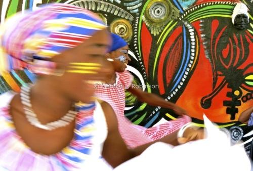 Havana Dancer in Motion