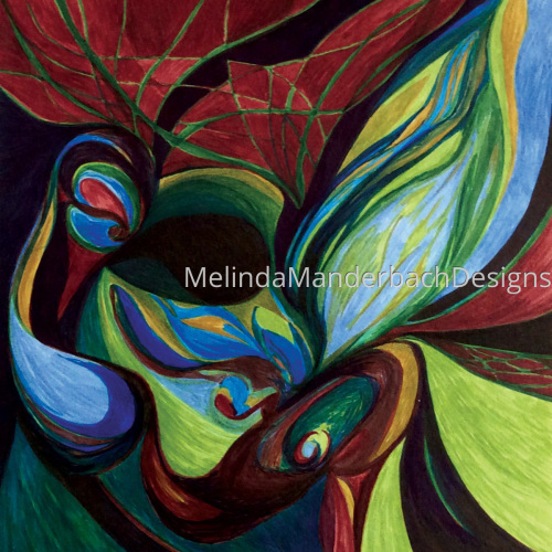 "Artwork titled ""Choices"" by Melinda Manderbach Designs"