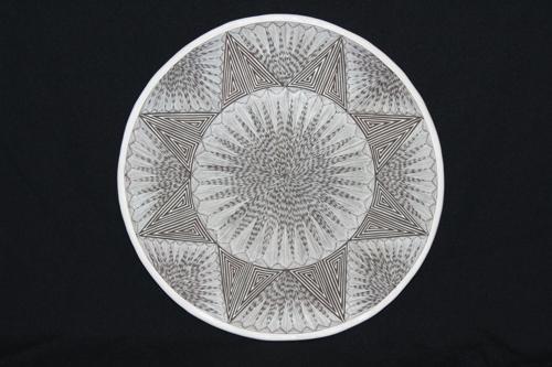 Acoma Plate by Melvin & Marietta Juanico