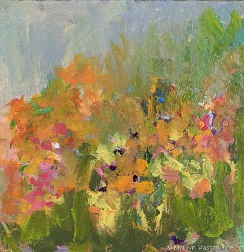 Bloomin' Yellow!! by Marilyn Massad Fine Art