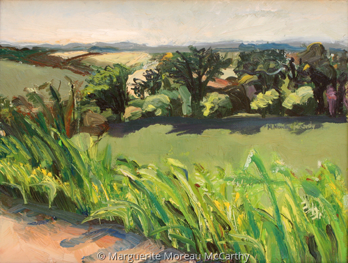 Pasture at Mamoir-de-Moellein by Marguerite Moreau McCarthy