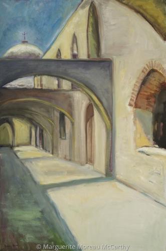 Mission San Jose by Marguerite Moreau McCarthy