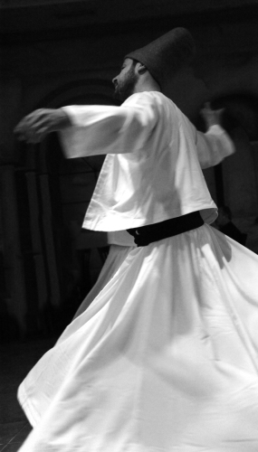 Whirling Dervish, Istanbul, Turkey
