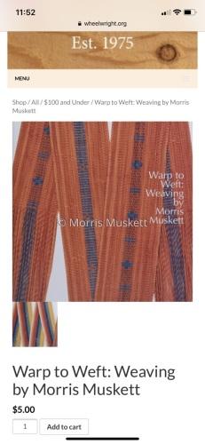 Untitled by Morris Muskett Dine' (Navajo) Weaver & Jeweler