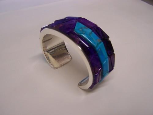 Sugalite / Morenci Tq. Bracelet