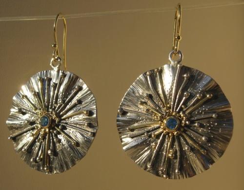 Earrings - Divine Rays 1