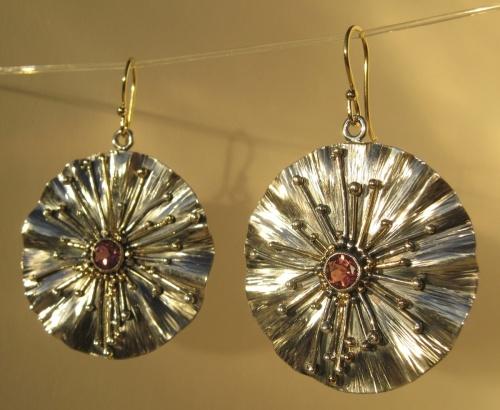 Earrings - Divine Rays 2