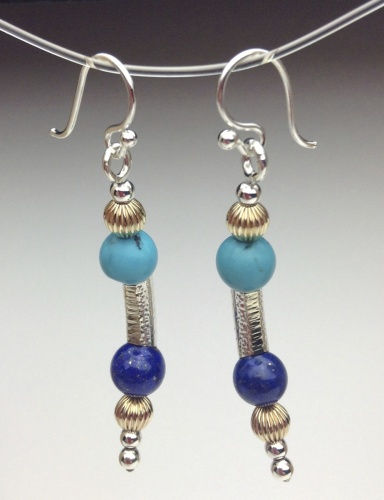 Earrings - Healing Gem Beads-13