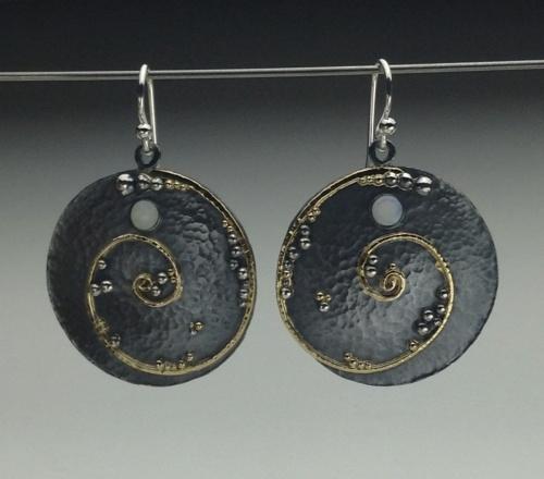 Earrings - Divine Spirals 2