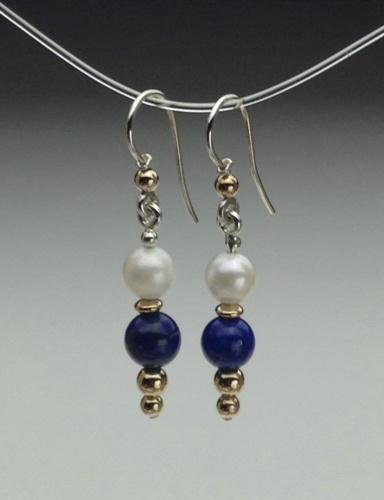 Earrings - Healing Gem Beads-1