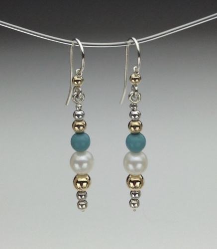 Earrings - Healing Gem Beads-3