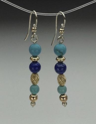Earrings - Healing Gem Beads-8
