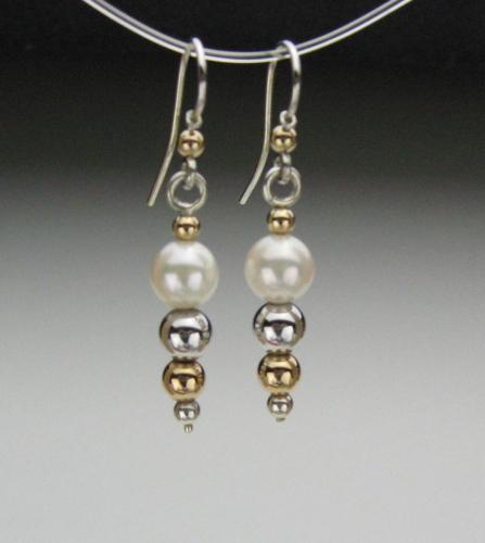 Earrings - Healing Gem Beads-2