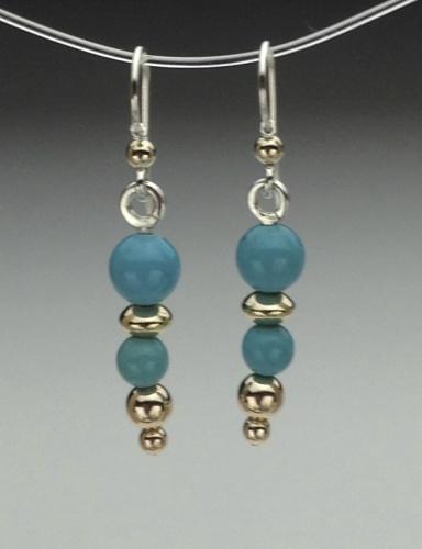 Earrings - Healing Gem Beads-7