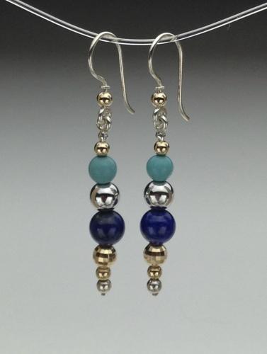 Earrings - Healing Gem Beads-9