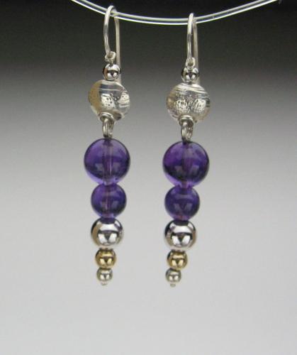 Earrings - Healing Gem Beads-10