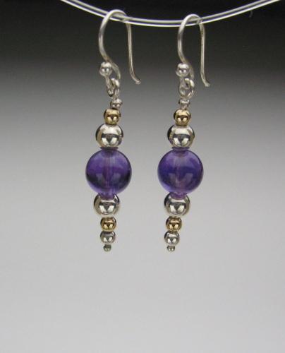 Earrings - Healing Gem Beads-11