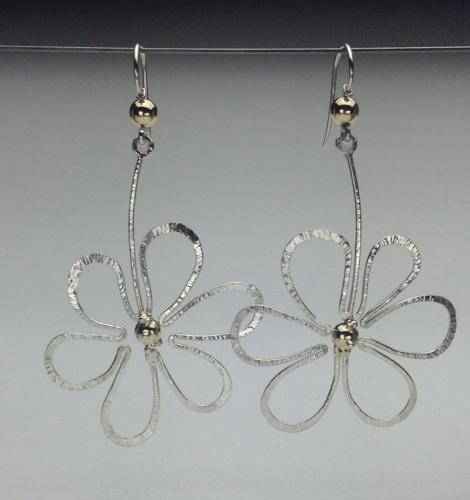 Earrings - Flower Power-1