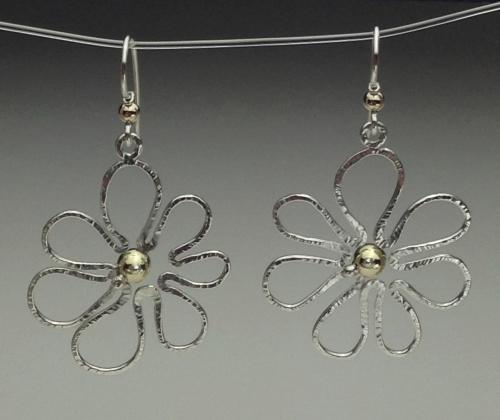 Earrings - Flower Power-3