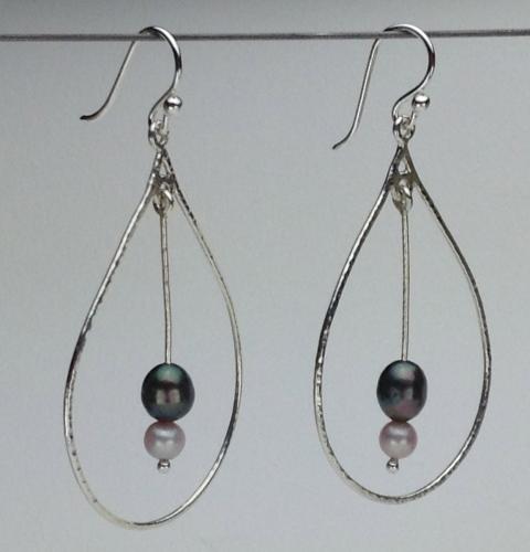 Earrings - Energy Teardrops-1