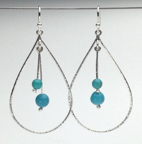 Earrings - Energy Teardrops-2