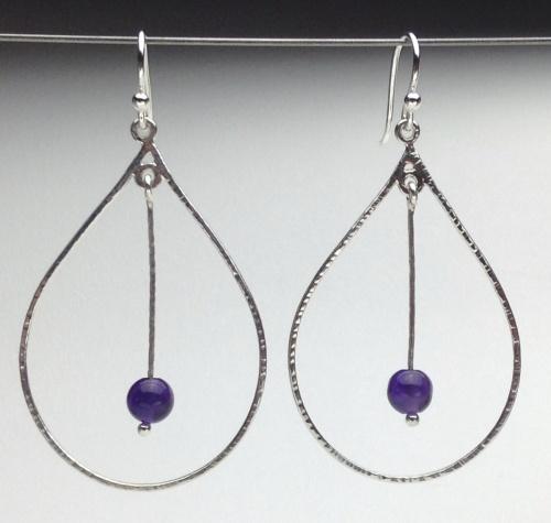 Earrings - Energy Teardrops-3