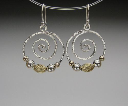 Earrings - Spiral Energy-3