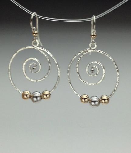 Earrings - Spiral Energy-5