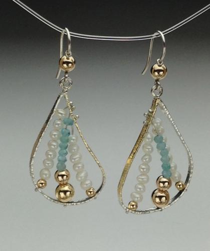 Earrings - Energy Power Gems-1