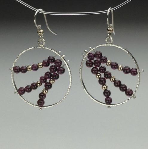 Earrings - Energy Power Gems-3