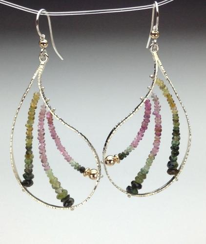 Earrings - Energy Power Gems-6