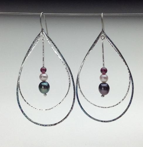 Earrings - Energy Teardrops-6