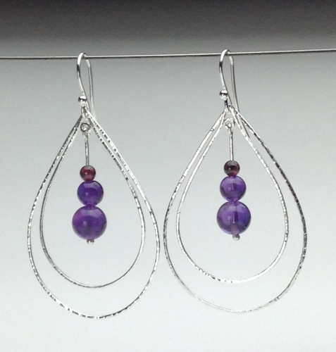 Earrings - Energy Teardrops-12