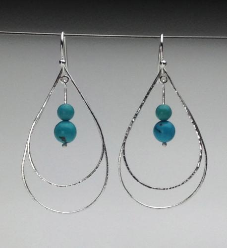 Earrings - Energy Teardrops-11