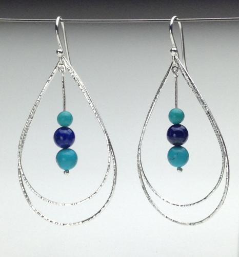 Earrings - Energy Teardrops-10