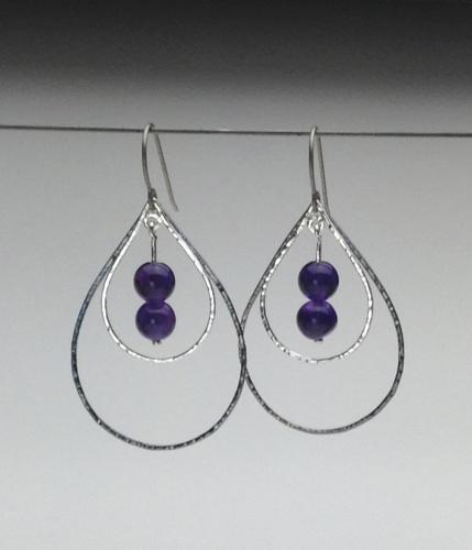 Earrings - Energy Teardrops-13