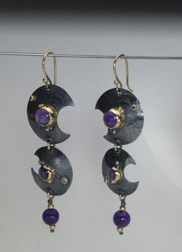 Earrings - Divine Moon 4