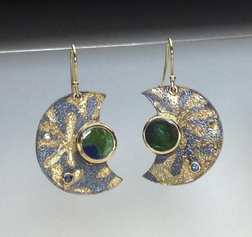 Earrings - Divine Moon 3