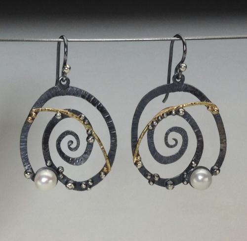 Earrings - Divine Spirals 4