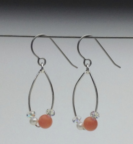 Earrings-Swarovski and Gem Collection 1