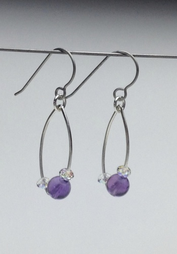 Earrings-Swarovski and Gem Collection 2