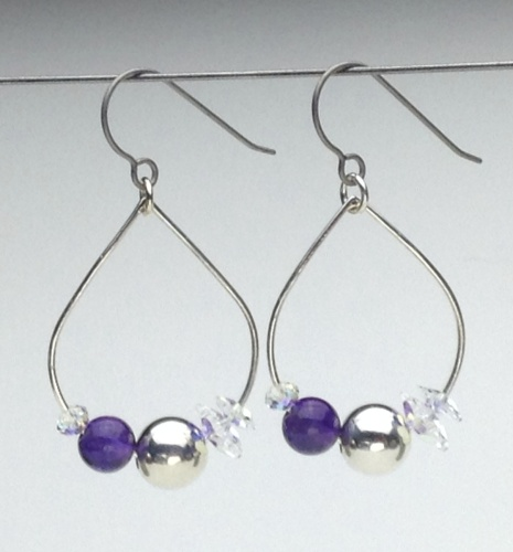 Earrings-Swarovski and Gem Collection 6