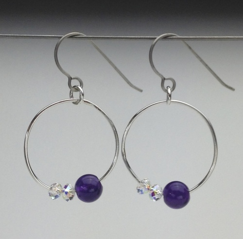 Earrings-Swarovski and Gem Collection 8
