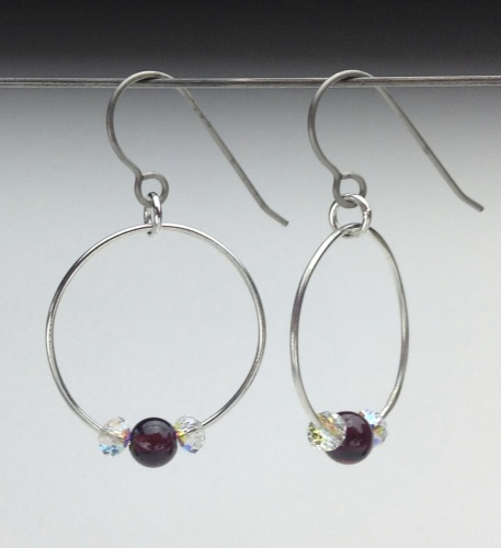 Earrings-Swarovski and Gem Collection 9