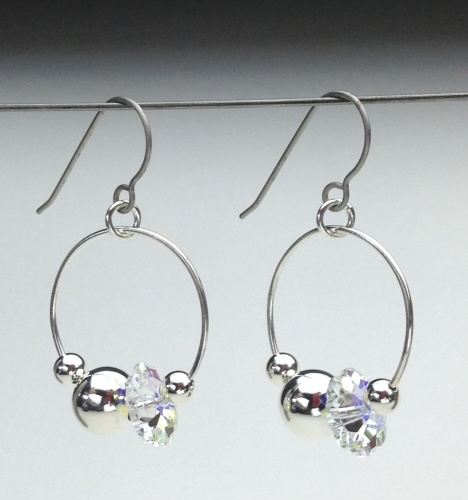 Earrings-Swarovski and Gem Collection 11