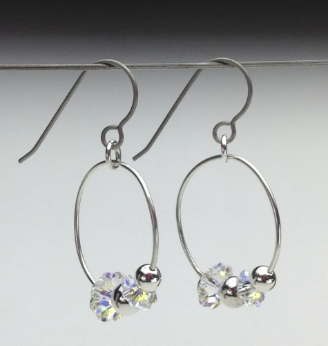 Earrings-Swarovski and Gem Collection 10