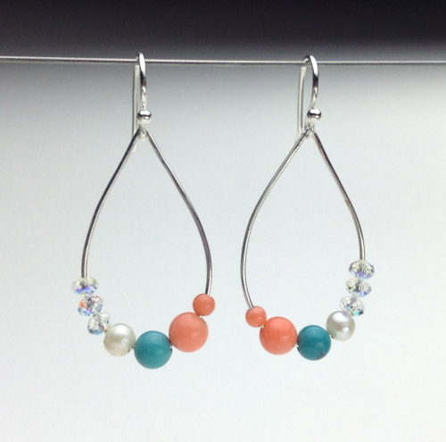 Earrings-Swarovski and Gem Collection 12