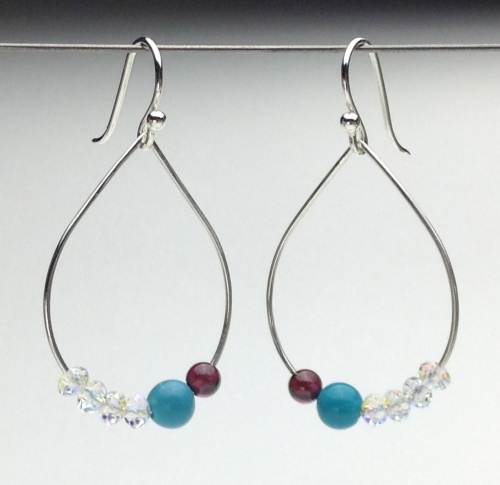 Earrings-Swarovski and Gem Collection 13