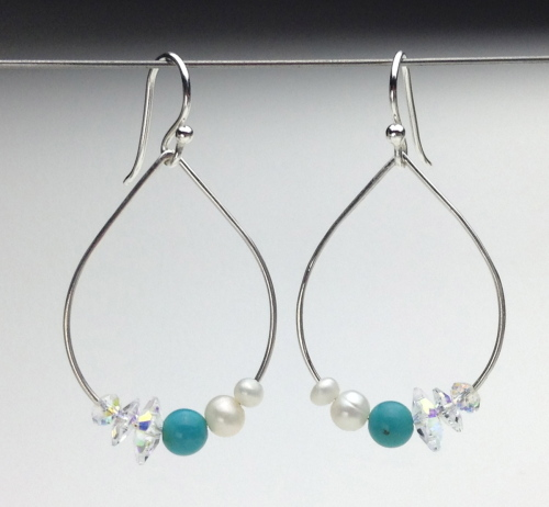 Earrings-Swarovski and Gem Collection 14