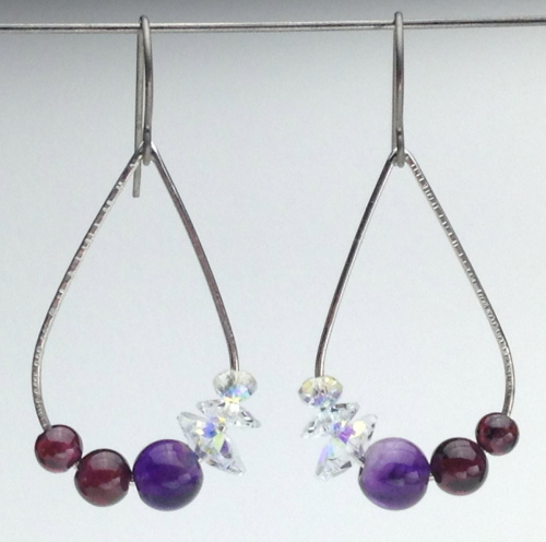 Earrings-Swarovski and Gem Collection 18